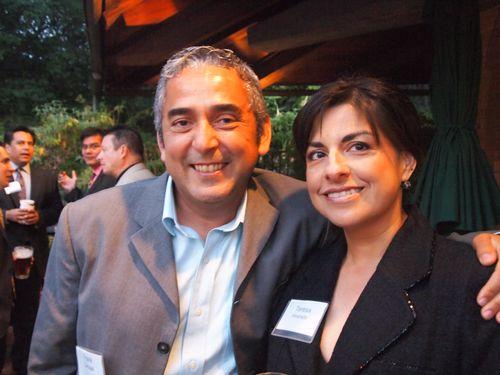 Frank Carbajal and Teresa Alvarado