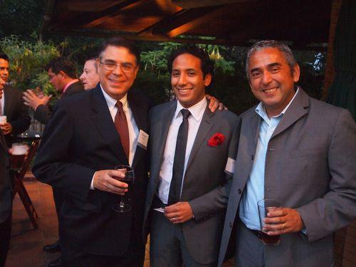 Michael Lopez, James Gutierrez and Frank Carbajal