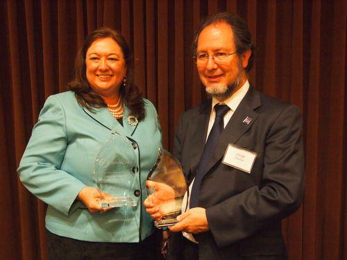 Catherine Sandoval and Jorge Zavala, TechBA